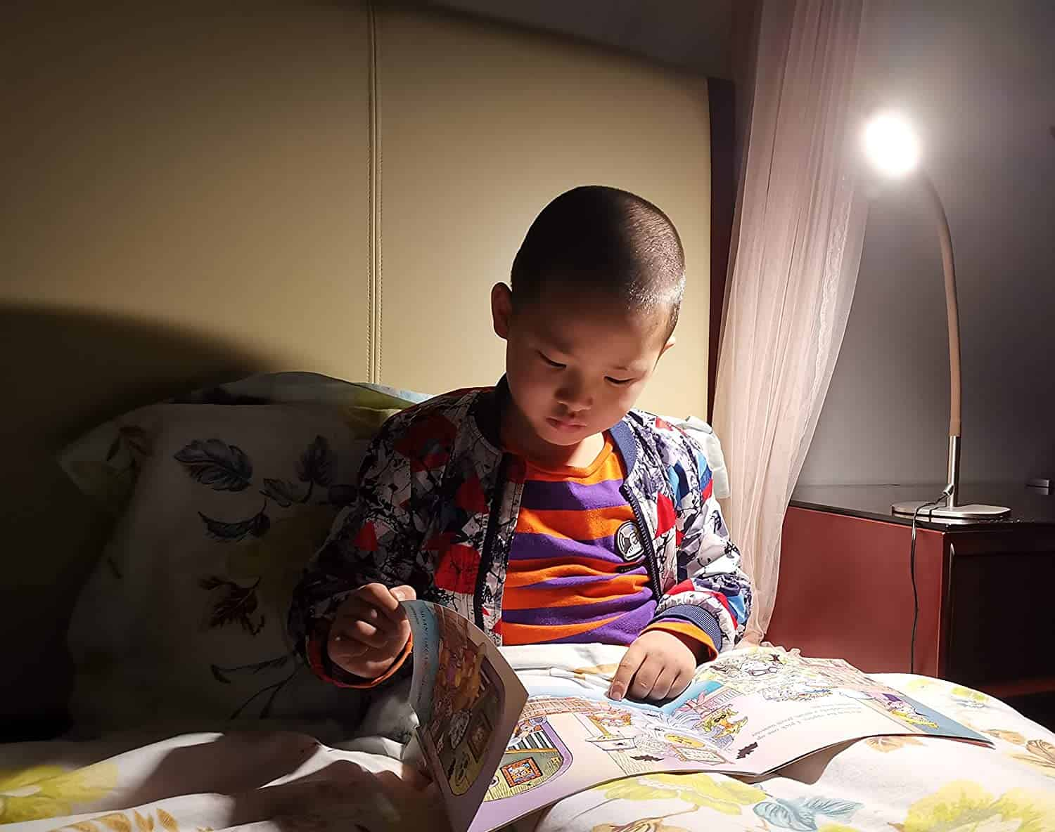 Bedside Reading Light Desk Lamp for kids 5