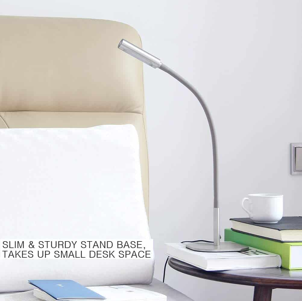 Bedside Reading Light with Ambient Options 3