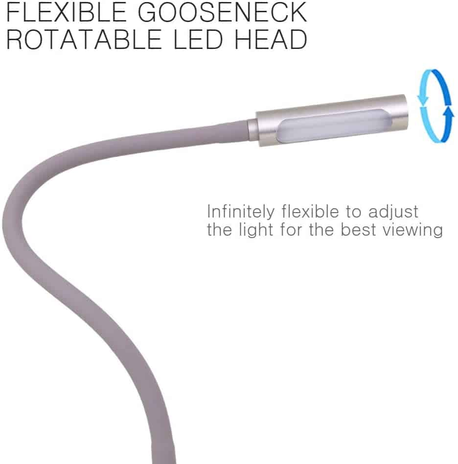 Wall Mounted Bedside Reading Light with USB Charger 21