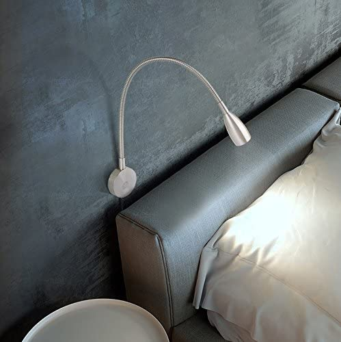 Wall Mounted Reading Light Lamp Easy Access