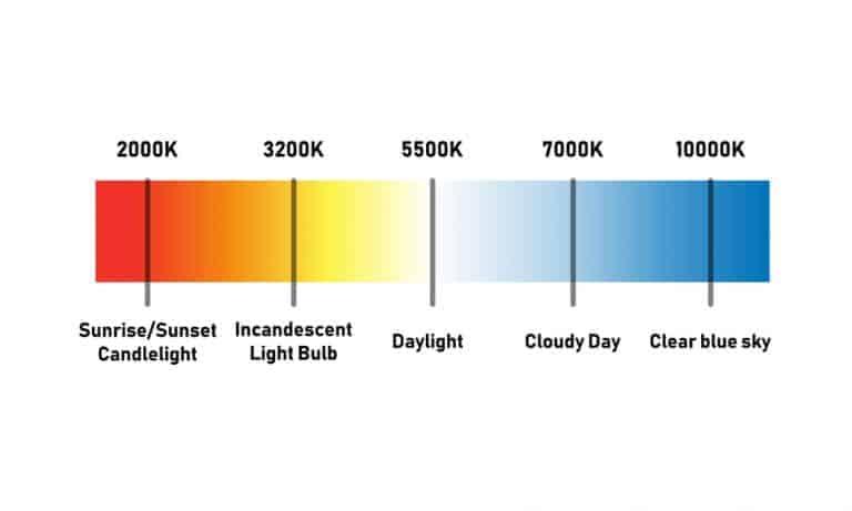 White Light or Yellow Light reading light