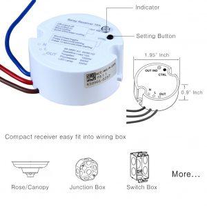 3 way wireless light switch kit