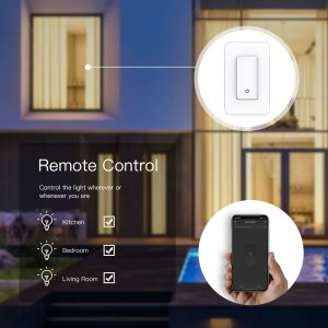Single Pole WiFi Smart Switch5