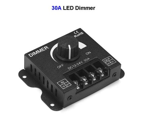 Black 12V DC Dimmer1