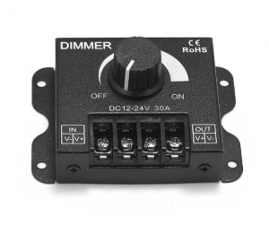Black 12V DC Dimmer5