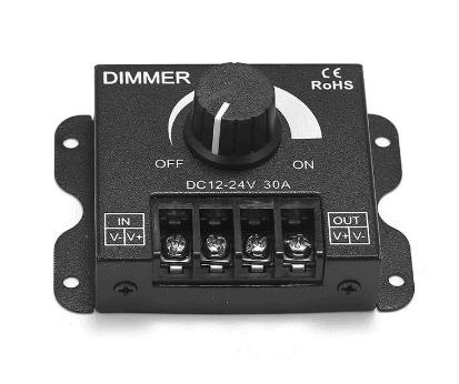 Black 12V DC Dimmer5