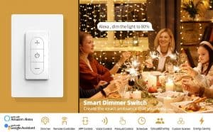Three-Gang Wi-Fi Dimmer Switch