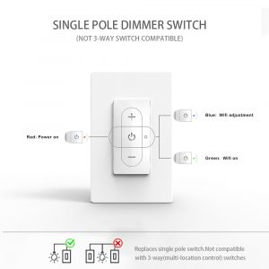 Three-Gang Wi-Fi Dimmer Switch34